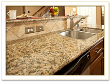 Countertop Bullnose Options : RiverCreek Builders - Katy, Houston Texas